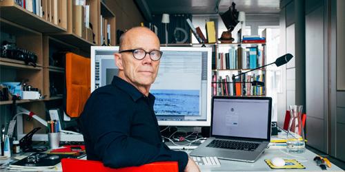 Erik Spiekermann in ufficio