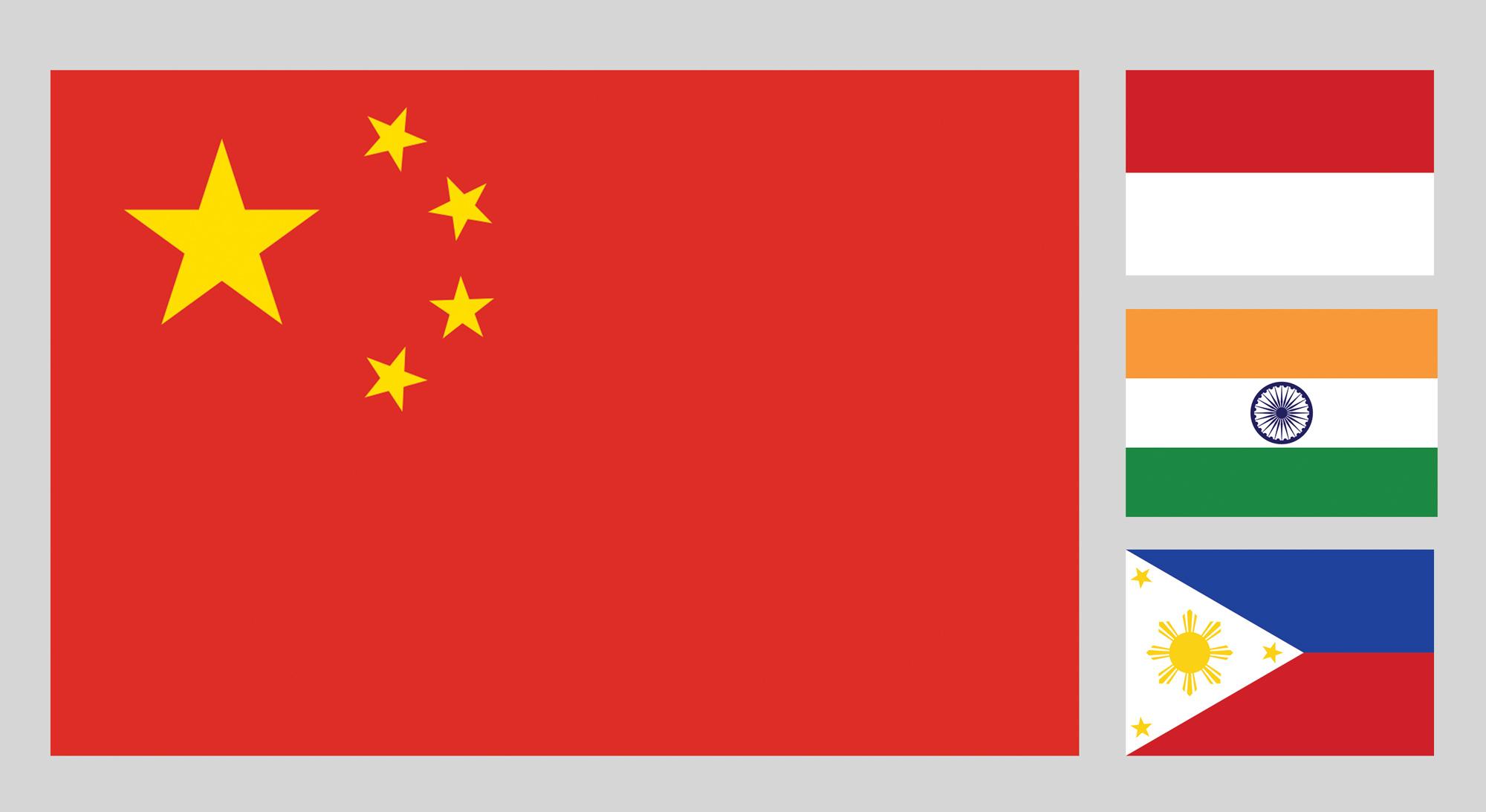 Bandiere oriente
